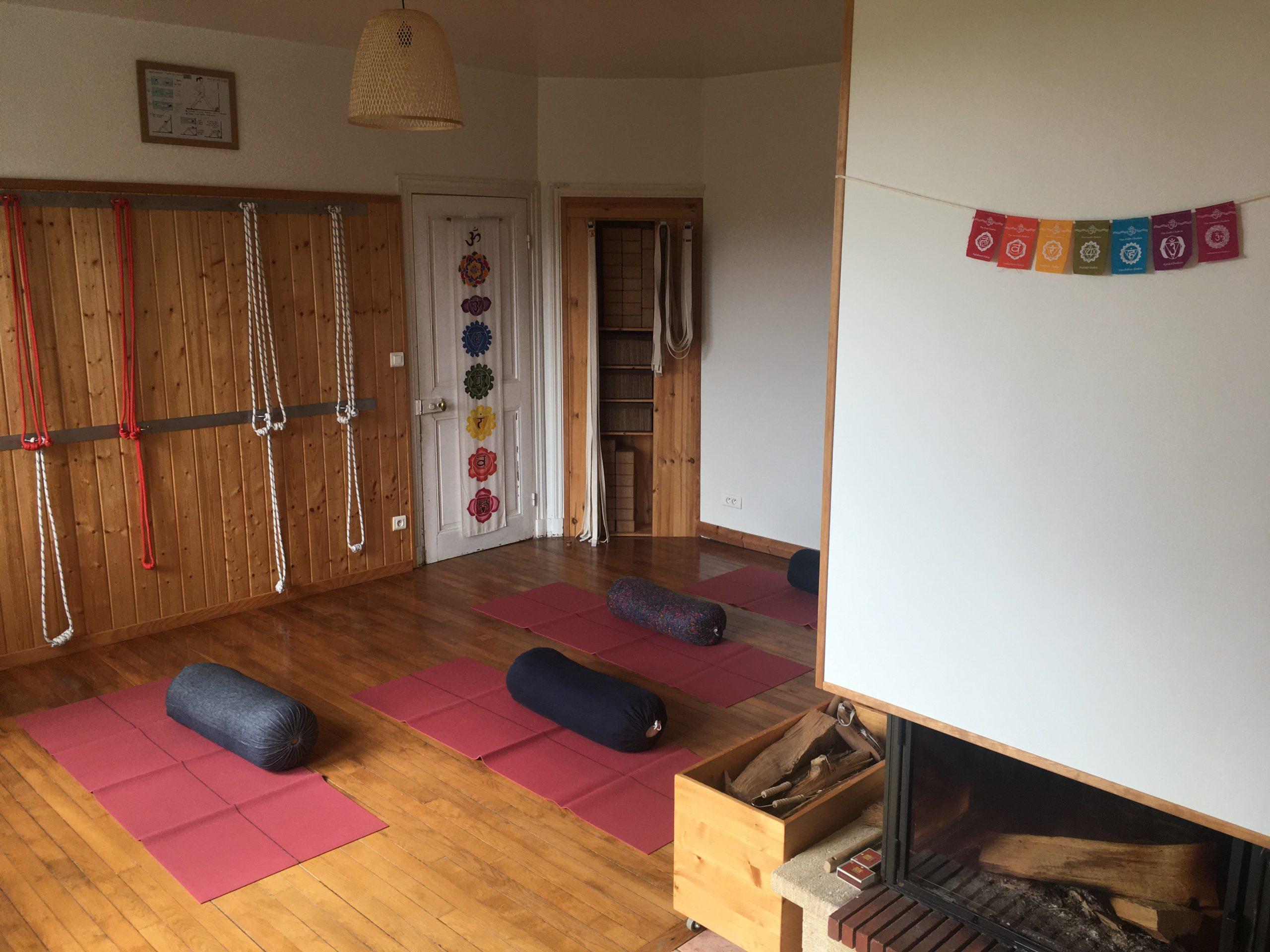 Salle du centre de yoga
